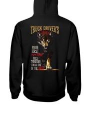 TRUCKER'S WIFE - I'M THE WOLF   Hooded Sweatshirt back