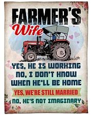 """Farmer's Wife Large Fleece Blanket - 60"""" x 80"""" front"""