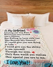 "Gift For Girlfriend  Premium Large Fleece Blanket - 60"" x 80"" aos-coral-fleece-blanket-60x80-lifestyle-front-02"