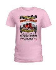 Trucker's Girl Ladies T-Shirt thumbnail
