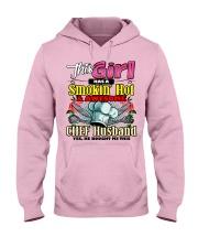 Chef's Wife Hooded Sweatshirt front