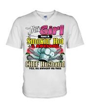 Chef's Wife V-Neck T-Shirt tile