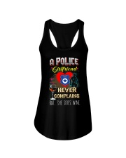 POLICE GIRLFRIEND LOVES WINE Ladies Flowy Tank thumbnail