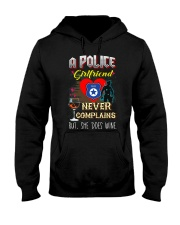 POLICE GIRLFRIEND LOVES WINE Hooded Sweatshirt thumbnail