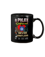 POLICE GIRLFRIEND LOVES WINE Mug thumbnail