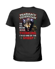 Pharmacy Technician - I'm the Wolf Ladies T-Shirt thumbnail