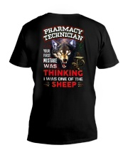 Pharmacy Technician - I'm the Wolf V-Neck T-Shirt thumbnail