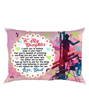GIFT FOR A LINEMAN'S DAUGHTER - PREMIUM Rectangular Pillowcase front