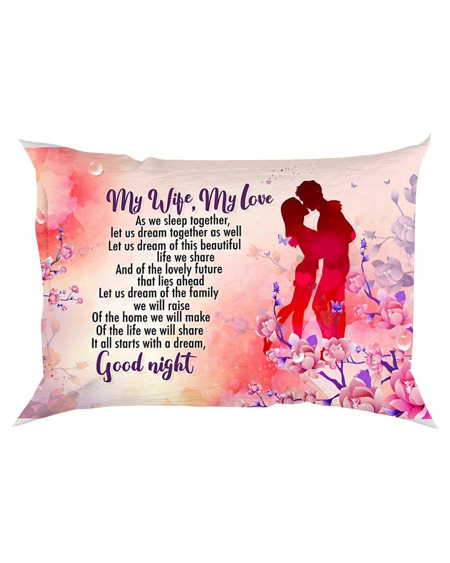 GIFT FOR A WIFE - PREMIUM Rectangular Pillowcase
