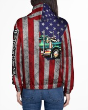 Trucker Women's All Over Print Hoodie aos-complex-women-hoodie-lifestyle-back-01