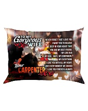 GIFT FOR A CARPENTER'S  WIFE - PREMIUM Rectangular Pillowcase front