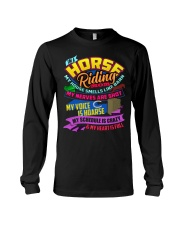 I AM A HORSE RIDING MOM Long Sleeve Tee thumbnail