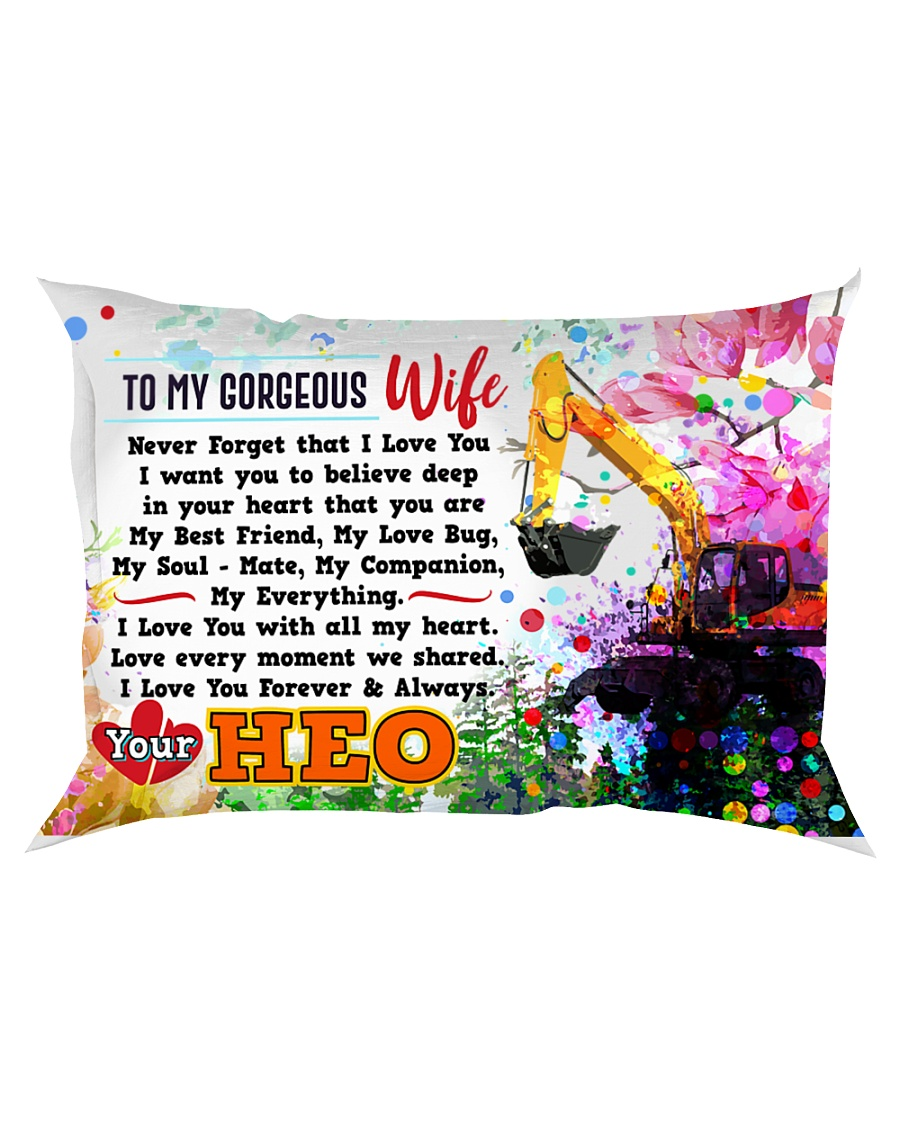 GIFT FOR AN HEO'S WIFE - PREMIUM Rectangular Pillowcase