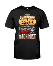 MACHINIST'S  GIRL Classic T-Shirt front