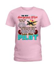 Pilot's Wife Ladies T-Shirt tile