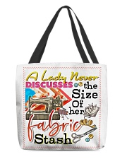 Sewing All-over Tote back