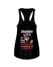 Dispatcher - I'm the Wolf Ladies Flowy Tank thumbnail