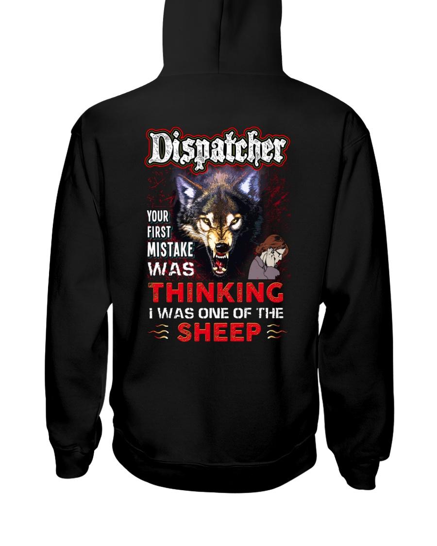 Dispatcher - I'm the Wolf Hooded Sweatshirt