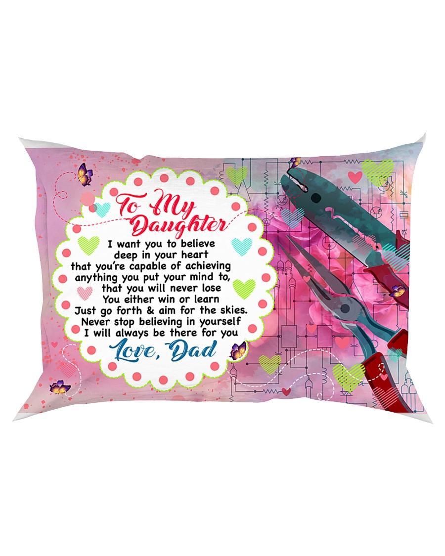 GIFT FOR AN ELECTRICAN'S DAUGHTER - PREMIUM Rectangular Pillowcase