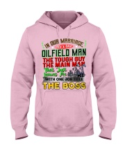 Oilfield Wife Hooded Sweatshirt front