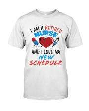 RETIRED NURSE Classic T-Shirt front