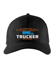 RETIRED TRUCKER Embroidered Hat front