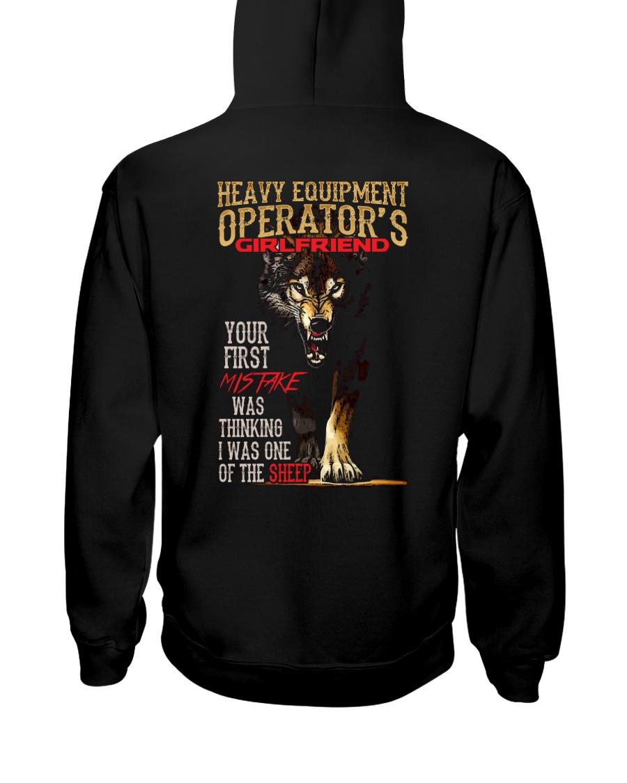 HEO'S  GIRLFRIEND - I'M THE WOLF   Hooded Sweatshirt