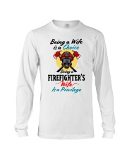 FIREFIGHTER'S WIFE Long Sleeve Tee tile