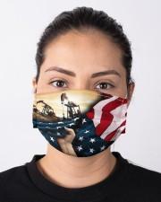 Oilfield Man Cloth face mask aos-face-mask-lifestyle-01