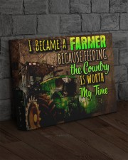 Farmer - Premium 14x11 Gallery Wrapped Canvas Prints aos-canvas-pgw-14x11-lifestyle-front-11