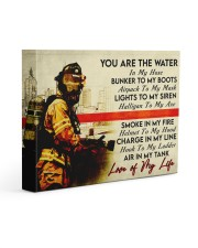 Firefighter- Premium 14x11 Gallery Wrapped Canvas Prints front