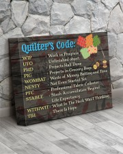 QUILTER'S CODE  - Premium 14x11 Gallery Wrapped Canvas Prints aos-canvas-pgw-14x11-lifestyle-front-13