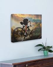 Mountain Biking- Premium 20x16 Gallery Wrapped Canvas Prints aos-canvas-pgw-20x16-lifestyle-front-01