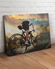 Mountain Biking- Premium 20x16 Gallery Wrapped Canvas Prints aos-canvas-pgw-20x16-lifestyle-front-14