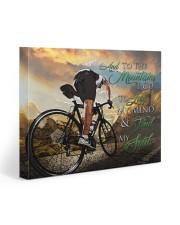 Mountain Biking- Premium 20x16 Gallery Wrapped Canvas Prints front