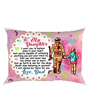 GIFT FOR A FIREFIGHTER'S DAUGHTER - PREMIUM Rectangular Pillowcase front