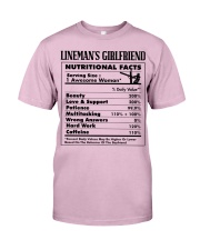 Lineman's Girlfriend Classic T-Shirt tile