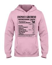 Lineman's Girlfriend Hooded Sweatshirt front