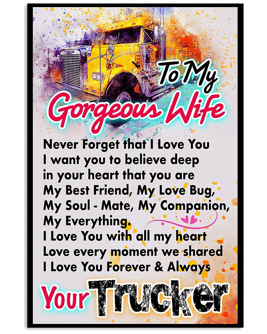 TRUCKER'S WIFE - PREMIUM 11x17 Poster