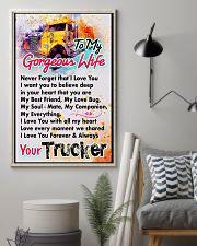 TRUCKER'S WIFE - PREMIUM 11x17 Poster lifestyle-poster-1