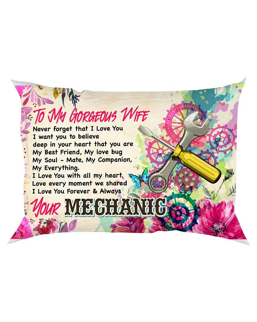 GIFT FOR A MECHANIC'S WIFE - PREMIUM Rectangular Pillowcase