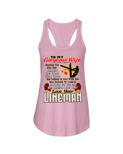 Lineman's Wife Ladies Flowy Tank thumbnail