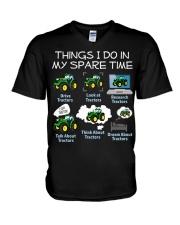 FARMER V-Neck T-Shirt tile