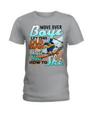 Skiing Ladies T-Shirt thumbnail