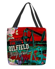 OILFIELD GIRLFRIEND All-over Tote back