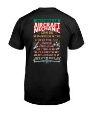 AIRCRAFT MECHANIC Classic T-Shirt back