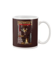 FIREFIGHTER'S  GIRLFRIEND - I'M THE WOLF   Mug tile
