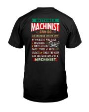 MACHINIST  vs ENGINEER Classic T-Shirt back