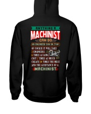 MACHINIST  vs ENGINEER Hooded Sweatshirt thumbnail