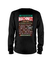 MACHINIST  vs ENGINEER Long Sleeve Tee thumbnail